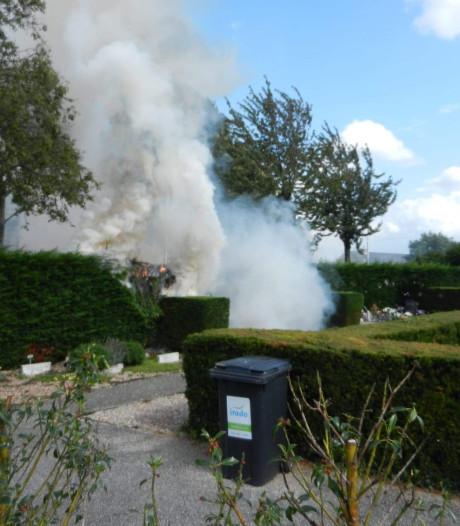 Hulpdiensten rukken uit voor meerdere branden in regio