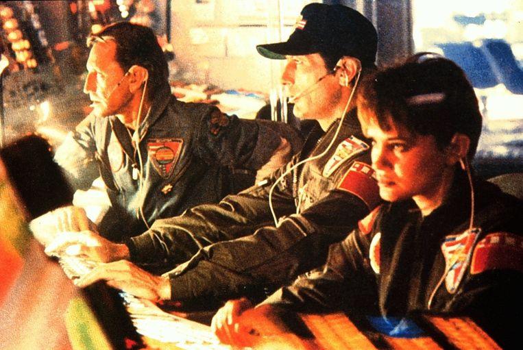 Helen Mirren, John Lithgow en Roy Scheider in 2001: A Space Odyssey. Beeld