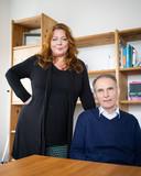 Filosofisch practici Ariane van Heijningen en Dick van Hennik: ,,Niets confronterender dan een goede vraag.''