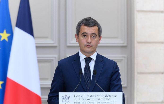 Le ministre français de l'Intérieur Gérald Darmanin.