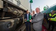 Tank diesellocomotief vol in minder dan kwartier