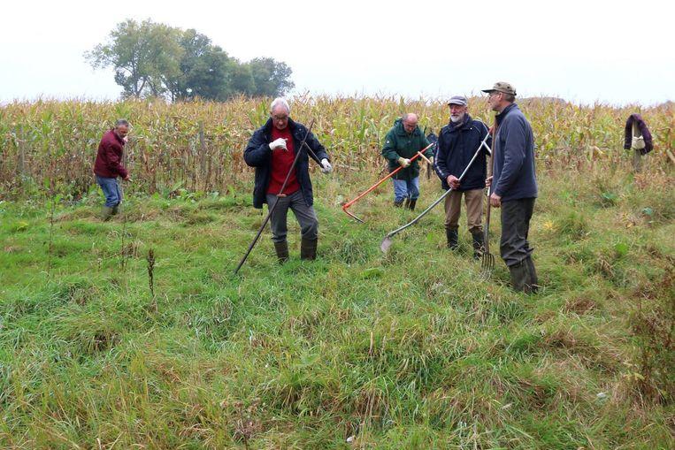 Vrijwilligers van Natuurpunt beheren de natuurgebieden.