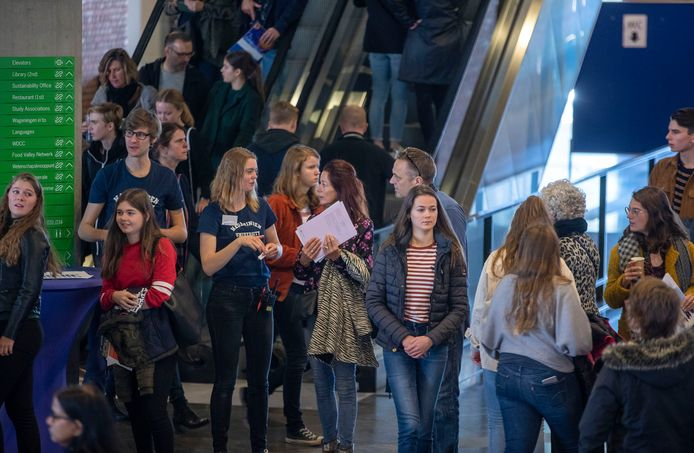 De open dag van de Wageningen Universiteit, 2019. Foto ter illustratie.