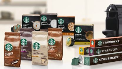 """Nestlé lanceert Starbucks-gamma in België: """"Beleving van koffiebar in huis brengen"""""""
