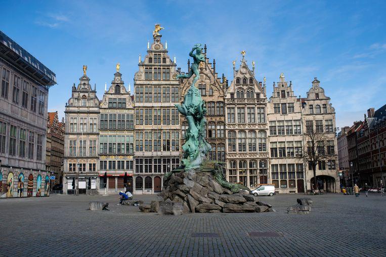 De Grote Markt in Antwerpen.