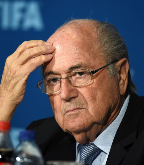 Blatter over vertrek in 2015: 'Plots was de FIFA geen maffiose organisatie meer'