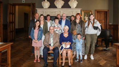 Liefde op het eerste gezicht voor William en Irène en nu vijftig jaar getrouwd