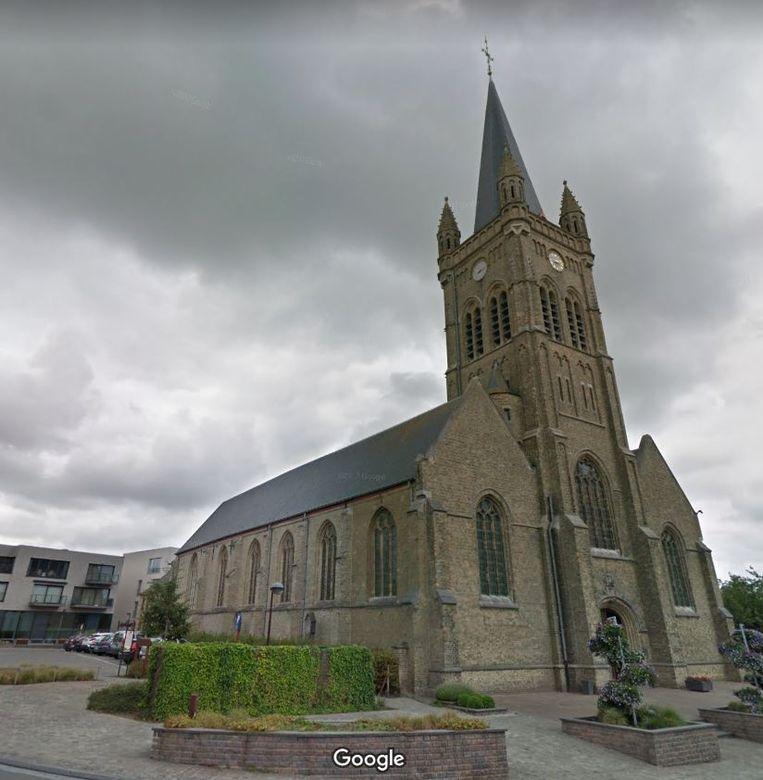 De Sint-Amanduskerk van Hooglede