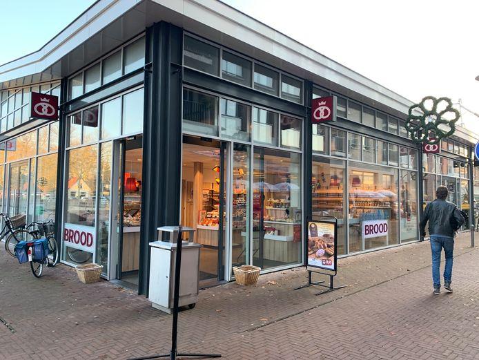 De winkel van bakkerij Van der Wal Jolink in Epe.