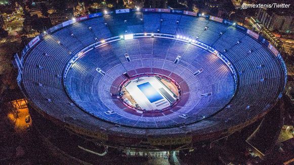 De arena waarin de twee elkaar treffen.