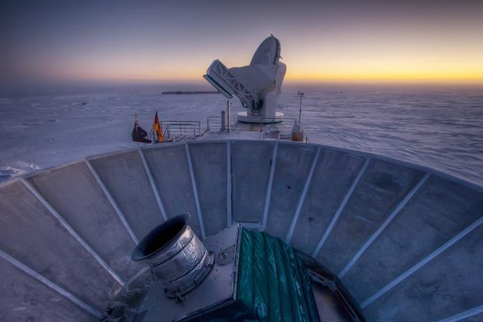 Téléscope BICEP2 (Antarctique)