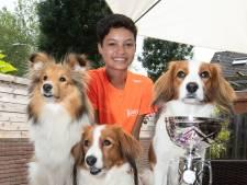 Quinty (14) uit Zutphen wint NK met 'leenhond'