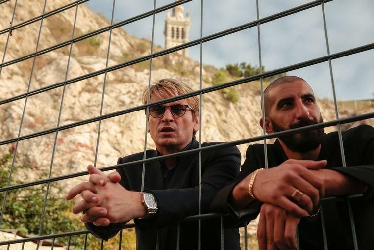 Benoît Magimel als Lucas Barrès (links). Beeld