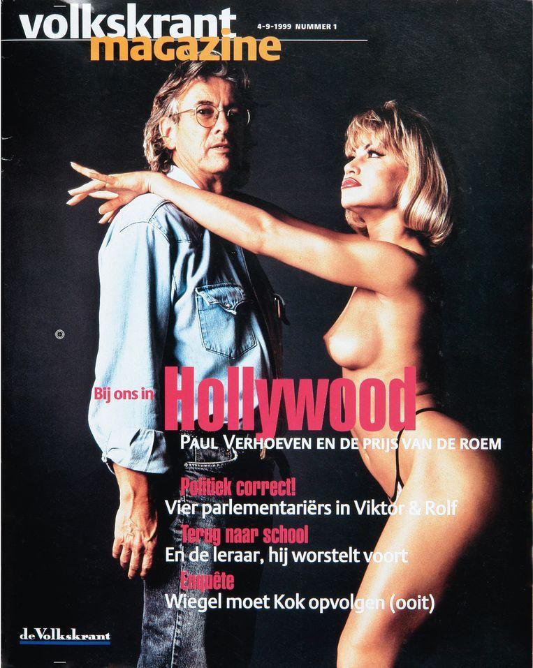 Volkskrant Magazine cover september 1999. Beeld
