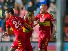 Go Ahead-speler Van der Venne maakt treffer luttele minuten na nagedachtenis spoorramp in zijn Oss