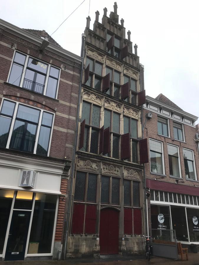 Gotisch Huis aan de Oudestraat in Kampen.