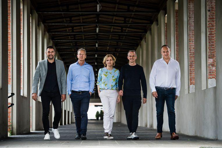Drie Keerbergenaren zijn Herculean Alliance gestart: Kris Talboom (l.), Inge Van Belle (midden) met daarnaast Yves Vekemans.