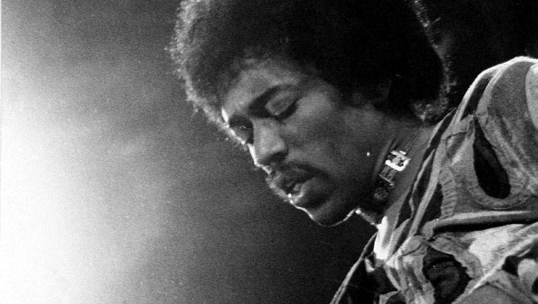 Jimi Hendrix 18 September 1970. Beeld anp