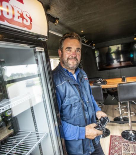 Bouwvakker Michael (47) wint na miskoop de 'meest luxe schaftkeet van de wereld'