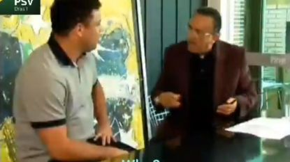 """Ronaldo laat Braziliaanse journalist schrikken: """"Luc Nilis was mijn beste ploegmaat"""""""