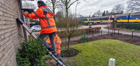 Intercity remt af bij Rijen, Dorst en Oisterwijk