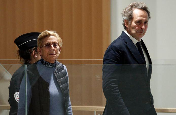 Isabelle Balkany arrivant au tribunal correctionnel de Paris ce vendredi 18 octobre.