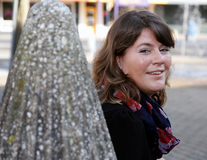 Joyce Vermue toen ze kamerlid voor de PvdA werd (2015)