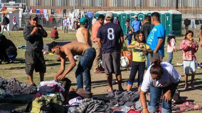 Migrantenkaravaan kijkt aan tegen protesten in Tijuana