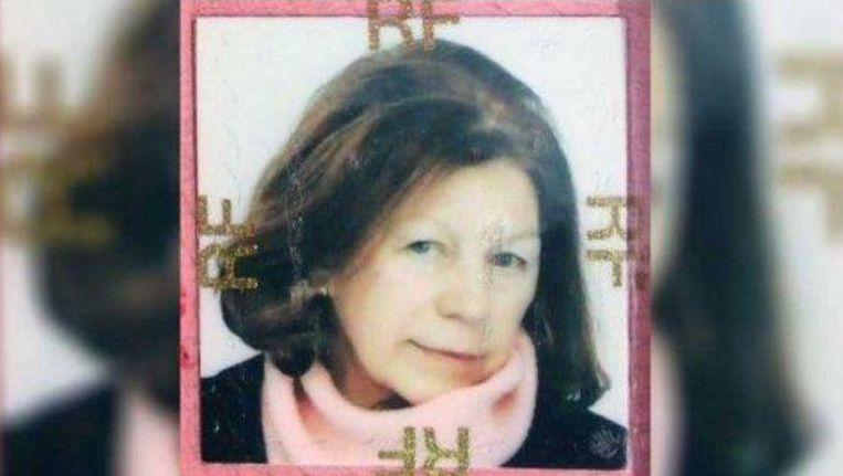 De opsporingsfoto van Ildiko Peers de Nieuwburgh die de Franse politie gebruikte om haar terug te vinden.