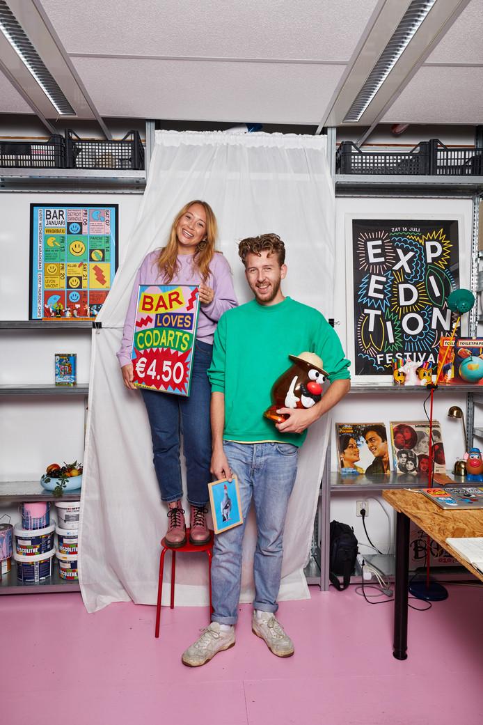 Romy Brand en Boyd Koers.