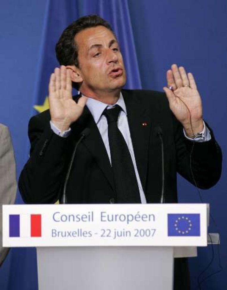 Krijgt Sarkozy weer klappen?