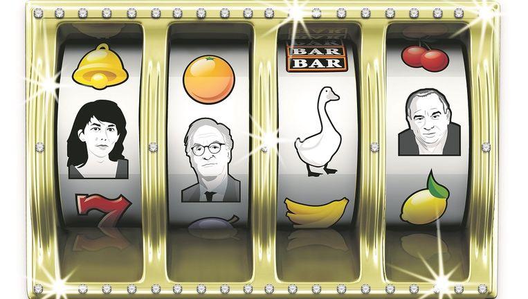 Mei Li Vos maakt zich kwaad over de lobby van de kansspelmarkt, Alexander Rinnooy Kan zette zich in voor goede doelen, onderzoeker Maurice de Hond. Beeld null