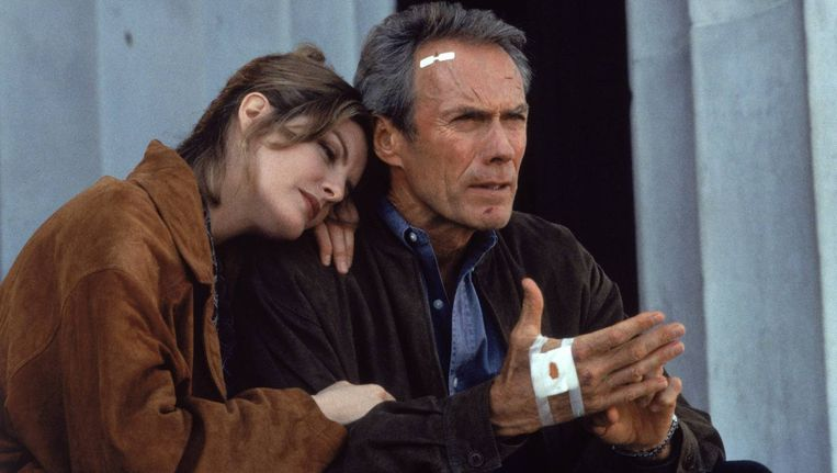 Clint Eastwood in In the Line of Fire Beeld
