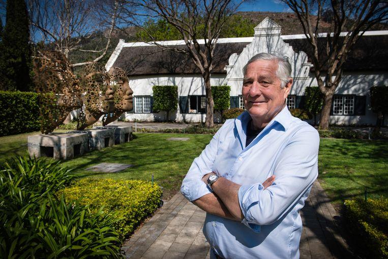 Alex van Heeren is de Nederlandse eigenaar van wijnboerderij Grande Provence.  Beeld Bram Lammers