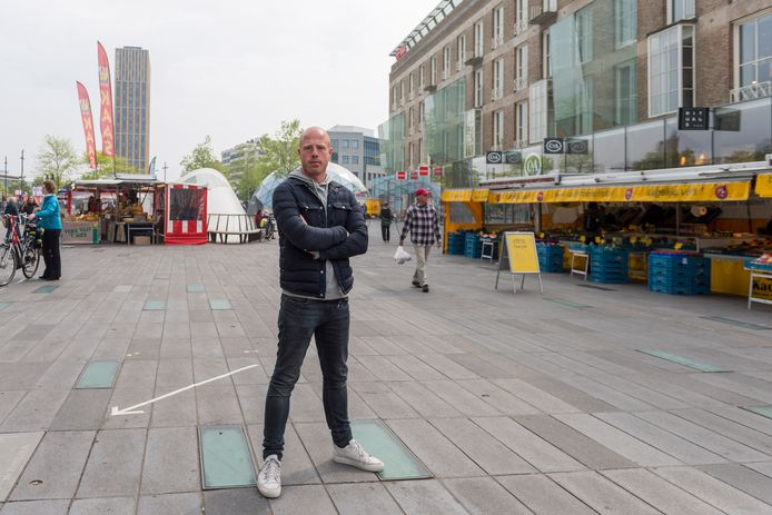 """Marktkoopman Roy van der Heiden: ,,We voelen ons niet serieus genomen."""""""