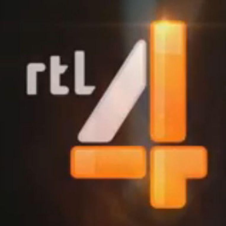 Het nieuwe logo van RTL4 Beeld RTL