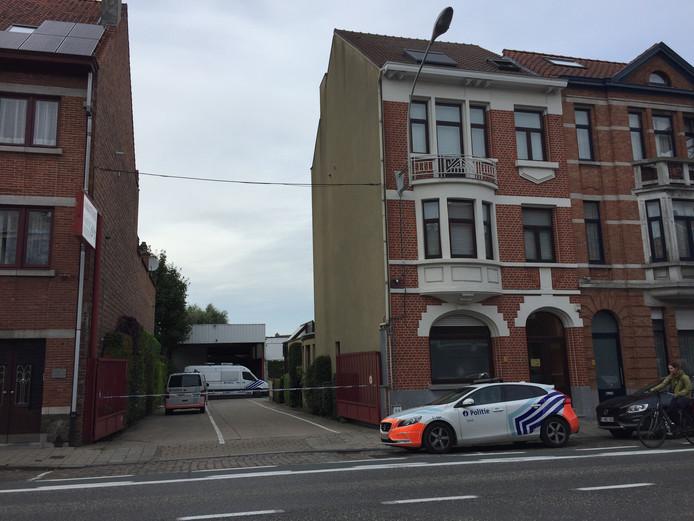 De politie sloot de toegang tot de site af.