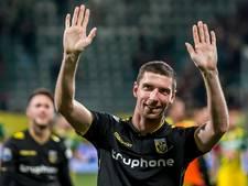 Kruiswijk terug bij Vitesse