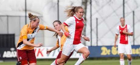 Vrouwenploeg Achilles'29 maakt stappen, ondanks verlies bij Ajax
