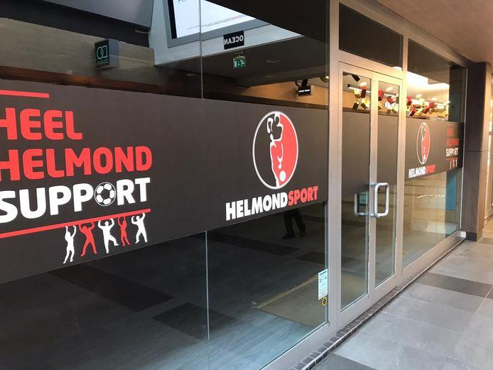 Helmond Sport heeft een pop-up store geopend in de Elzaspassage.