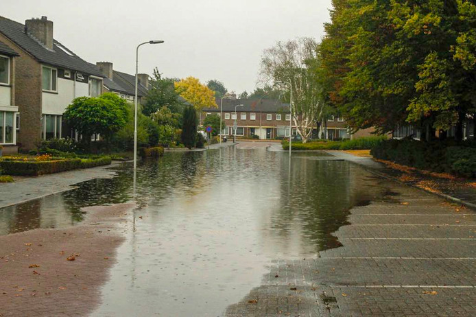 Wateroverlast in Someren in 2018