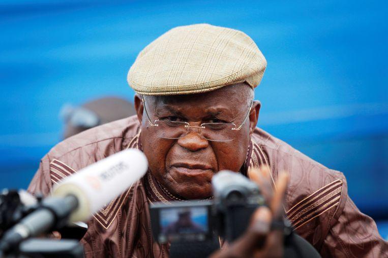 Oppositieleider Etienne Tshisekedi. Beeld REUTERS