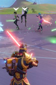 Lightsabers in Fortnite ter ere van Star Wars Day