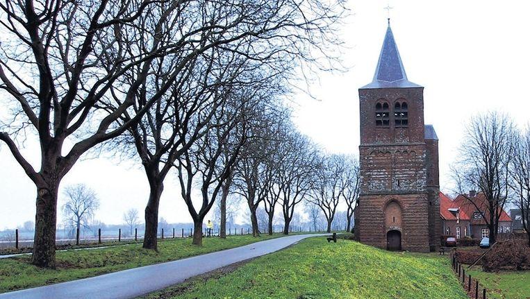 De voormalige hervormde kerk van Dieden. © Jeroen Sep Beeld