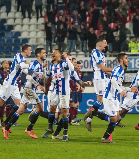 Heerenveen schakelt na penalty's bekerfinalist Willem II uit