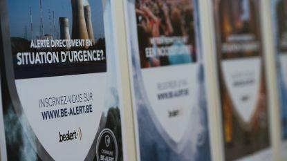 Meer dan 100.000 alert-berichten uitgestuurd op Gentse Feesten voor test