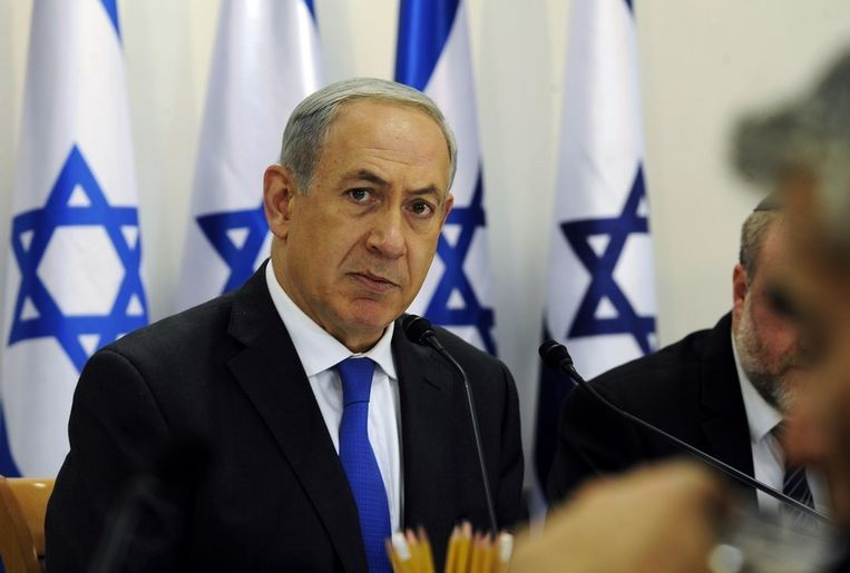 """Benjamin Netanyahu was geroerd door de film: """"De film heeft me geraakt, ik werd veertig jaar teruggeschoten in de tijd"""""""