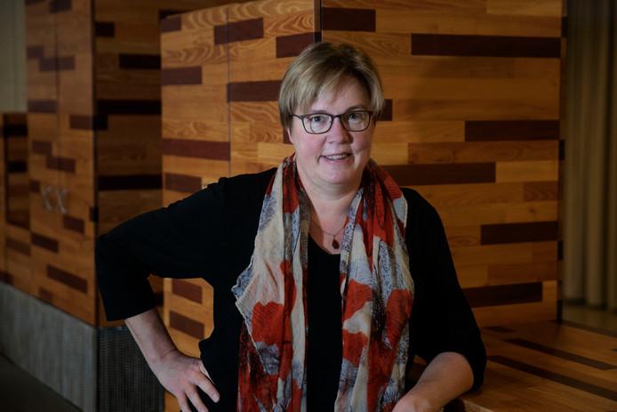 Jannie Visscher is de belangrijkste kandidaat voor het SP-voorzitterschap.