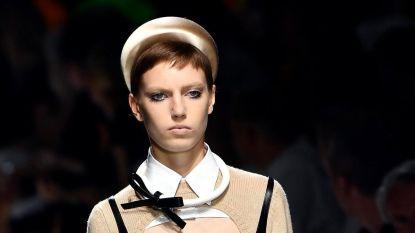 Dit Nederlandse topmodel knipte al haar haar af voor één modeshow van Prada