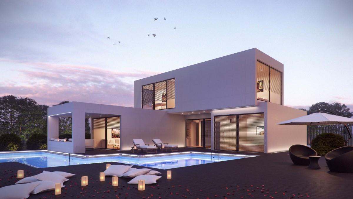 Zo'n soort huis wil Andy Pieloor in de Slimme Wijk in Helmond neerzetten, gebouwd volgens het modulaire principe.